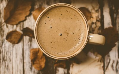 kaffe kop efterår