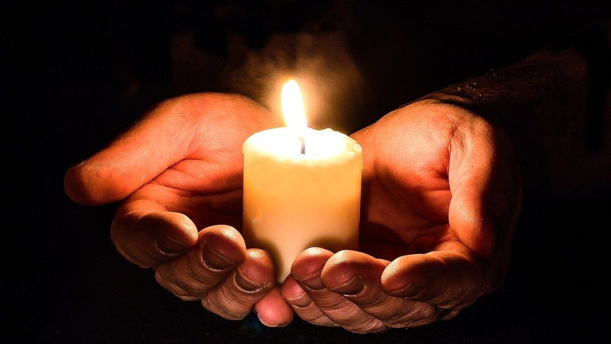 andagt ejby kirke lys